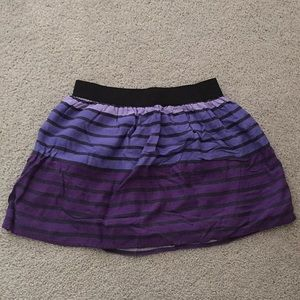 Purple Circle Skirt